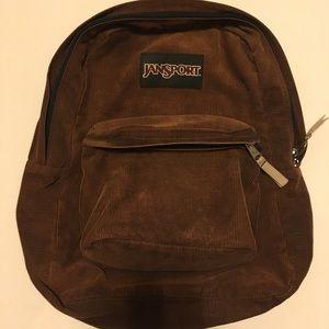 Vintage Jansport Corduroy Backpack